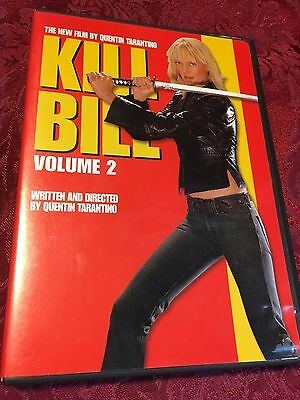 Kill Bill : Volume 2 (2004 DVD) Quentin Tarantino Uma Thurman SHIPS RIGHT NOW!