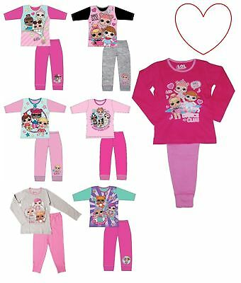 Girls Pyjamas LOL Surprise Nightwear Kids Set Gift