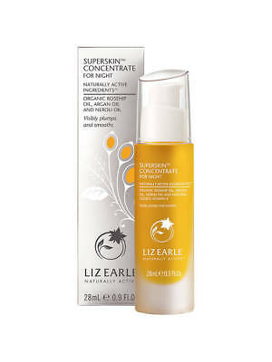 LIZ EARLE SUPERSKIN CONCENTRATE 28ml ARGAN OIL NEW STOCK SEALED. LUXURY GIFT.