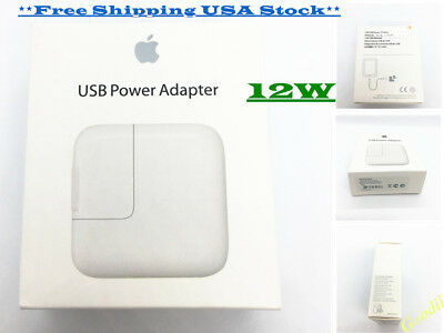 OEM Genuine 12W USB Power Adapter Wall Charger for Apple ipad, iphone, ipod