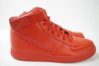 c4a8898b5 NIKE VANDAL HIGH SUPREME LEATHER DRAGON RED size UK 12 US 13 EUR 47.5 AH8518  601