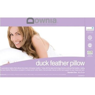 NEW Duck Feather Pillow - Downia,Pillows