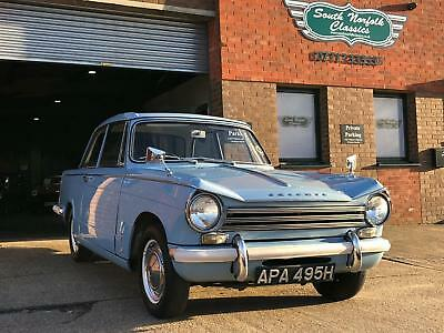 1969 Triumph Herald 13/60 with overdrive. Wedgewood Blue