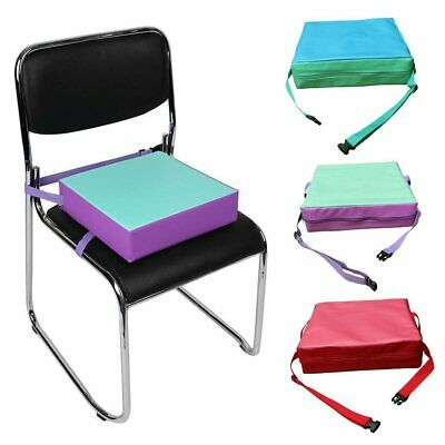 Children Chair Sponge Cushion Adjustable Booster Seat Pad For Toddlers Kids