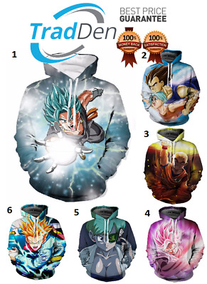 Dragon Ball Z T Compression Shirt Costume Anime Jersey Workout Training Sport 3D