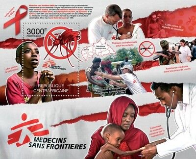 Central Africa 2012 Sheet Mnh Msf Doctors Without Borders Medecins 1A