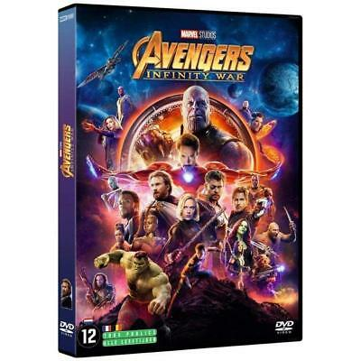 DVD - Avengers : Infinity War - Robert Downey Jr., Chris Hemsworth, Zoe Saldana,