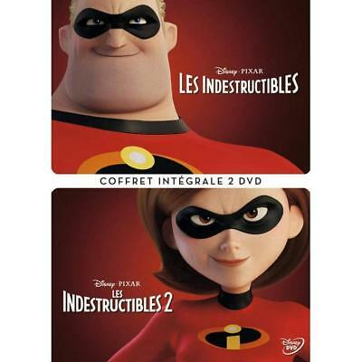 DVD Les Indestructibles + Les Indestructibles 2