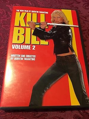 Quentin Tarantino's Kill Bill : Volume 2 (2004 DVD) Uma Thurman SHIPS RIGHT NOW!