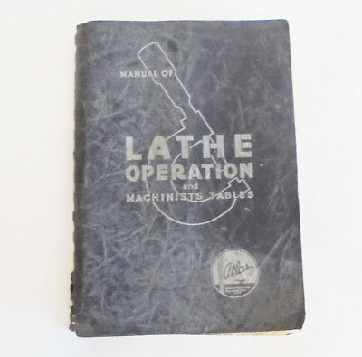 Atlas Lathe Operation Manual