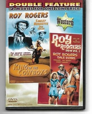 Roy Rogers King Of The Cowboys Roy Rogers Show 2 Movies on 1 Brand New DVD