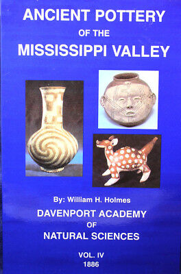 """Ancient Pottery of the Mississippi Valley""  Prehistoric Artifact Book"
