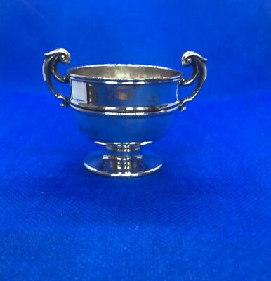 Lovely Small Antique Solid Hallmark Silver Trophy Cup - CHESTER Hallmark - 1901