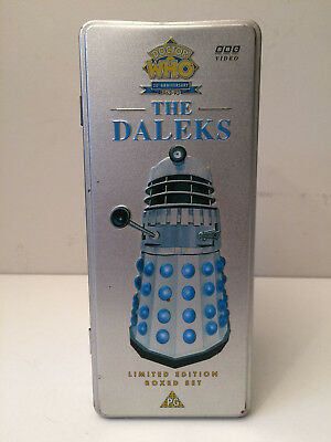 Doctor Who 30th Anniversary The Daleks Limited Edition Box Set Videos       LJ