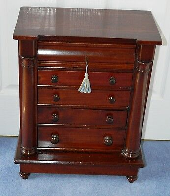 Mahogany Chest of Drawers Apprentice Piece, mahogany Victorian