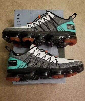 c85dbd4e7 NIKE AIR VAPORMAX Run Utility NRG White Black Tropical Twist 11.5 ...