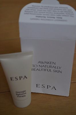ESPA Overnight Hydration Therapy facial mask travel size 15ml RRP 55ml £35