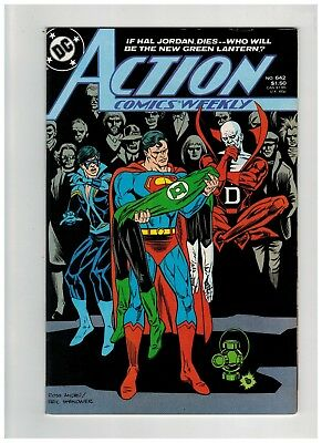 Action Comics Weekly #642 (1989 DC) Final Weekly Issue - Nightwing - Superman VF