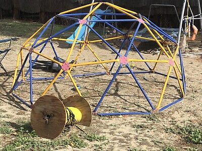 Climbing Dome Playset Kids Outdoor Play Set Playground E Climber Equipment