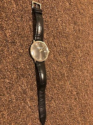 3cc59bcfd Raymond Weil Men's 'Toccata' Swiss Quartz Stainless Steel and Leather Watch.