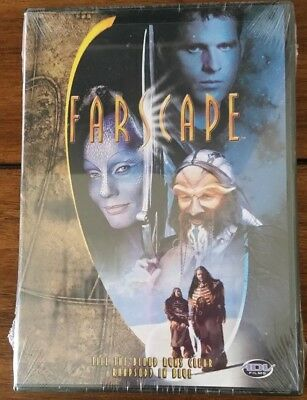 "New Farscape Sci Fi DVD ""Till The Blood Runs Clear, Rhapsody In Blue"""