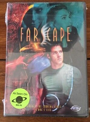 "New Farscape Sci Fi DVD ""Through The Looking Glass, A Bug's Life"" Sealed"