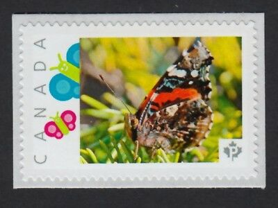 BUTTERFLY on pine tree = Picture Postage stamp MNH Canada 2015 [p15/12sn1]