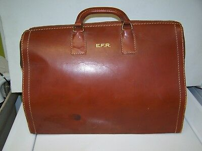 Vintage Mutual Leather Dr DOCTOR Bag---AS IS TO RESTORE