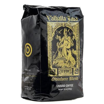 12oz Death Wish Ground Coffee Valhalla Java Odenforce Blend New Free Shipping