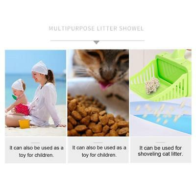 Kitten Cat Litter Scoop Pet Toilet Processor Spoon Filter Shovel Scooper
