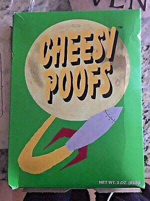 South Park CHEESY POOFS BOX w/ food 1998