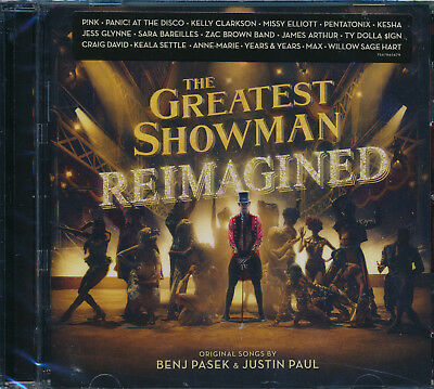 Greatest Showman Reimagined CD NEW Ben Pasek and Justin Paul