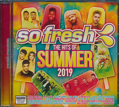 So Fresh The Hits Of Summer 2019 CD NEW Khalid Halsey