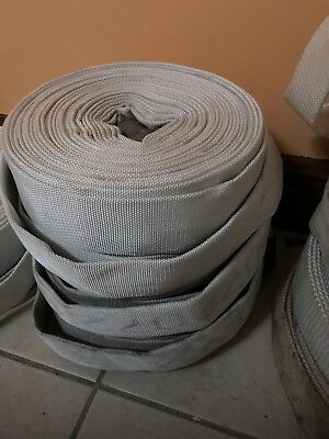 Fire Hose  100 Ft Very Good Condition Hose Only No Couplings Good For Docks