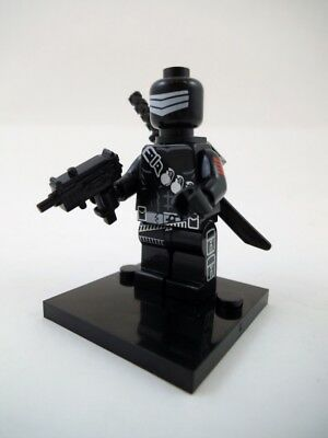 NEW GI Joe Snake Eyes Lego Block Compatible Cobra Mini Figure IN USA