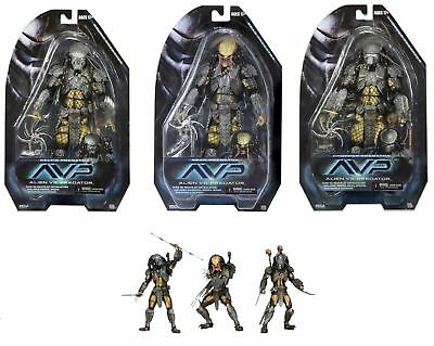 NECA AVP Alien Vs Predator SERIES 14 ACTION FIGURE SET Chopper, Scar & Celtic