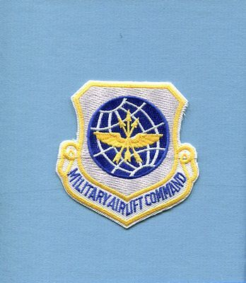 MAC MILITARY AIRLIFT COMMAND USAF Air Force Transport Squadron Hat Jacket Patch