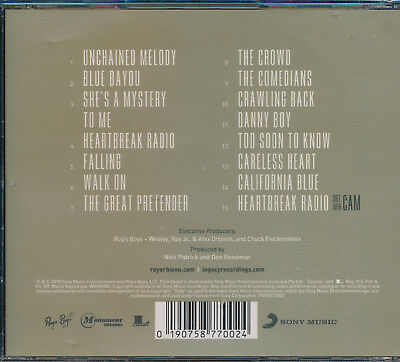 Roy Orbison Unchained Melodies Royal Philharmonic Orchestra CD NEW