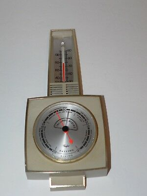 Vintage Taylor Hanging Falling Rising Wall Thermometer (9 inches tall) Retro