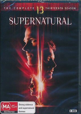 Supernatural TV Series Season 13 DVD Brand New