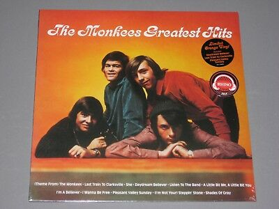 MONKEES Greatest Hits LP (Limited Orange Vinyl) SYEOR 2019 New Sealed Vinyl
