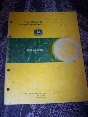 7V Parts catalog 4 M Pickup for forage Harvesters John deere PC 3175