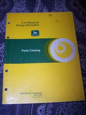 7W Parts catalog 4 M Pickup for forage Harvesters John deere PC 3175