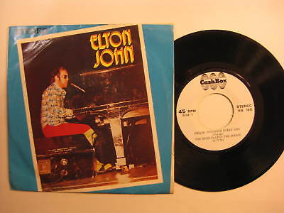 Elton John Saturday Night's Alright +3 EP Taiwan with custom sleeve RARE 1973