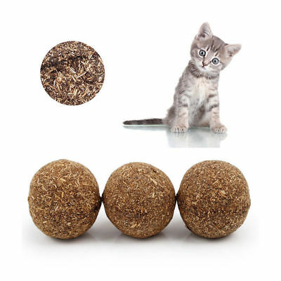 Funny Treats Ball Pretty Pet Cat Toys Natural Catnip Healthy For Cats Kitten 1PC