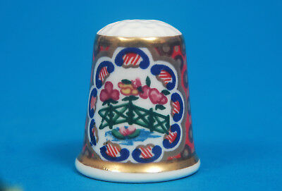 Royal Worcester Historical Patterns No.17 China Thimble B/27