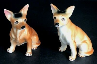 Pair of Vintage Chihuahua Dog Figurine