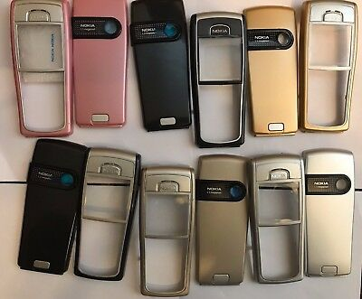 Brand New  HOUSING FASCIA CASE COVER FOR NOKIA 6230i 6230 Pink/BLACK/SILVER/GOLD