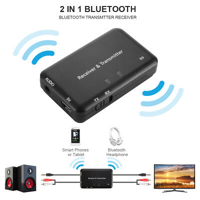 B9 2 in 1 Wireless Bluetooth Audio Transmitter Receiver 3.5mm AUX Jack AC1509