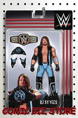 Wwe #23 (2018) 1St Printing Riches Action Figure Variant Cover Boom